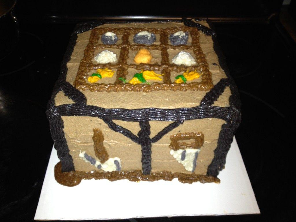 Crafting Table Cake Minecraft Cake Cake Crafting Recipes