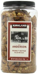 Kirkland Signature Peanut Butter Pretzel, 52 Ounce - http://handygrocery.org/grocery-gourmet-food/snack-foods/pretzels/kirkland-signature-peanut-butter-pretzel-52-ounce-com/