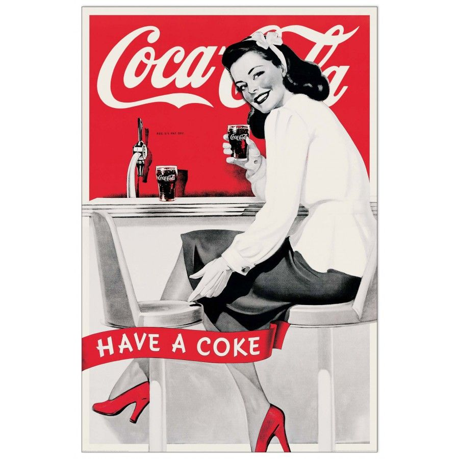 Coca cola have a coke poster bei allposters