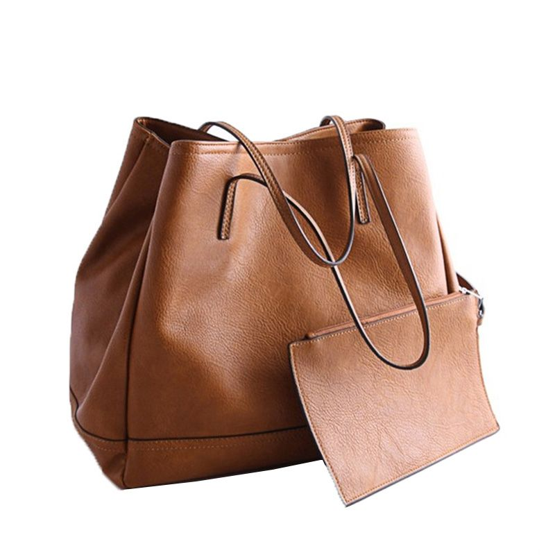 8da42048e1b 2016 neue Mode Verbund Taschen Frauen Umhängetasche Vintage Frauen  Handtasche Set Pu-leder Handtaschen und Geldbörsen Designer Damen Taschen