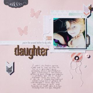 Daughter by MichelleWedertz at @studio_calico