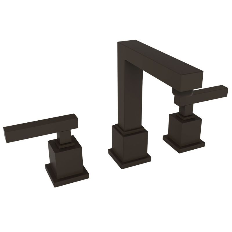 Newport Brass 2030 Cube 2 Double Handle Widespread Lavatory Faucet
