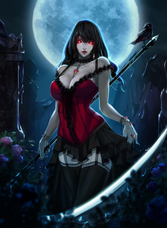 Вампирши арты аниме