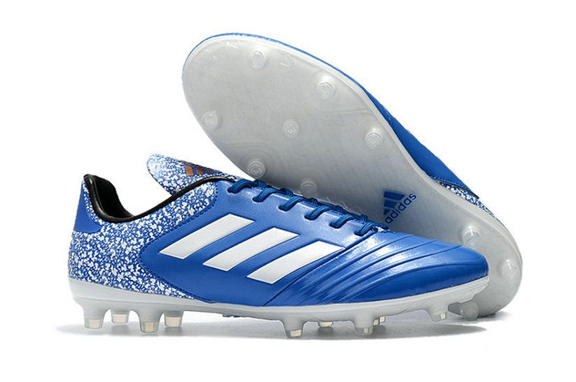 competitive price b9ade da4b5 Adidas Copa 18 1 Fg Football Boots Blue White Popular Sneaker