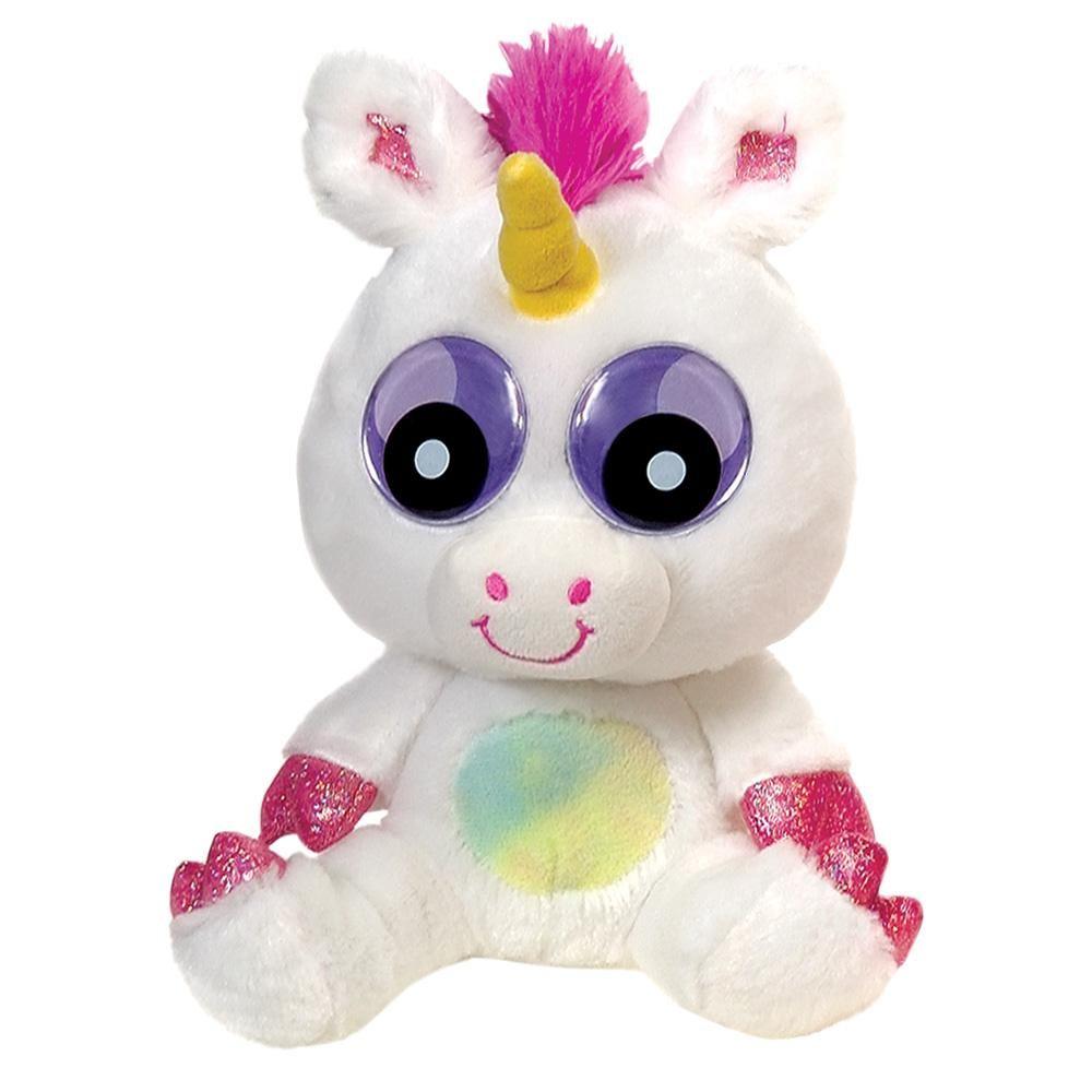 Zoogly I's Unicorn stuffed animal, Unicorn plush