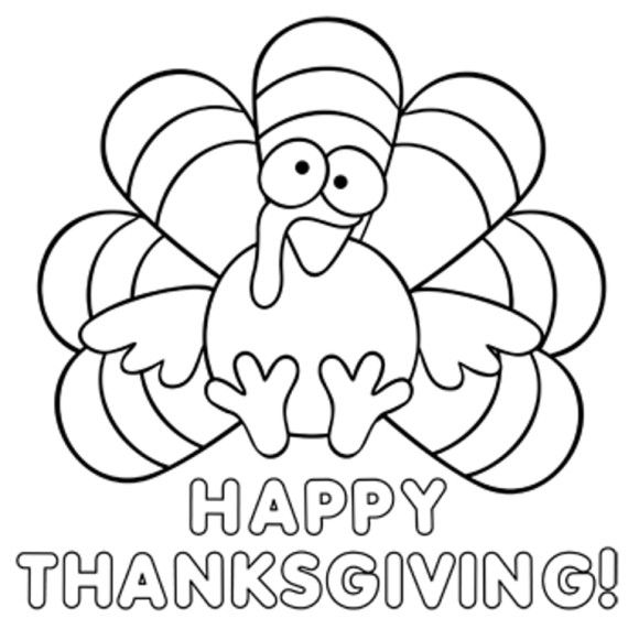 Turkey Coloring Pages Pdf