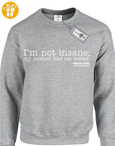 Eat Sleep Shop Repeat Herren Sweatshirt Small Gr. S, grau (*Partner-