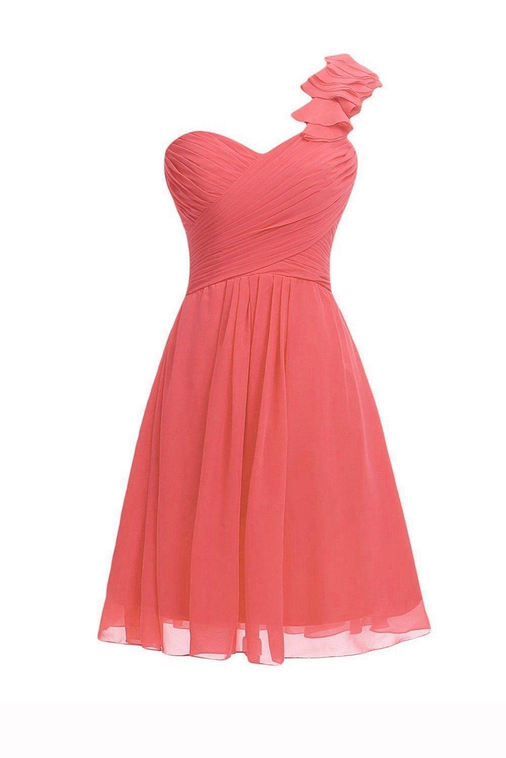 Bg646 Charming Prom Dress,Short Prom Dresses,One Shoulder Prom ...