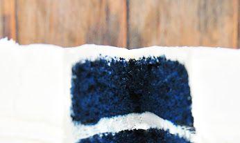Blue Velvet Cake Recipe Baking Ideas Pinterest Blue velvet cakes