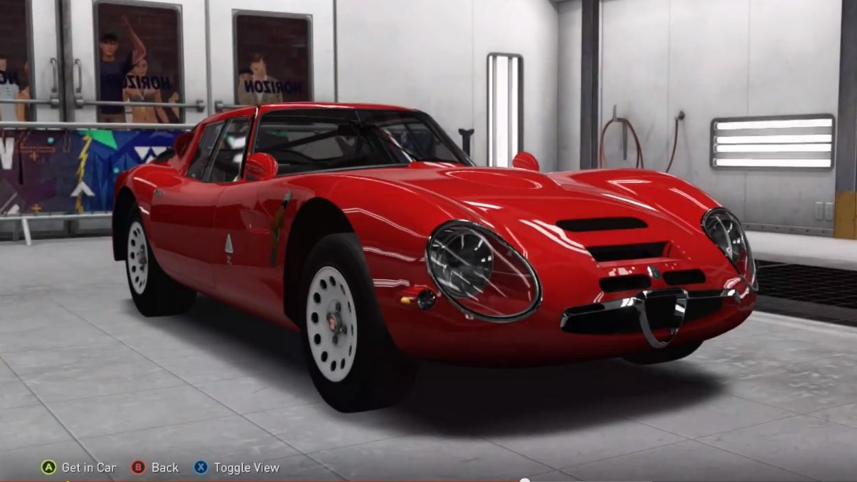 The Guide Shows How To Get Seventh Barn Find Car In Forza Horizon 2 For Xbox 360 And One A 1965 Alfa Romeo Giulia