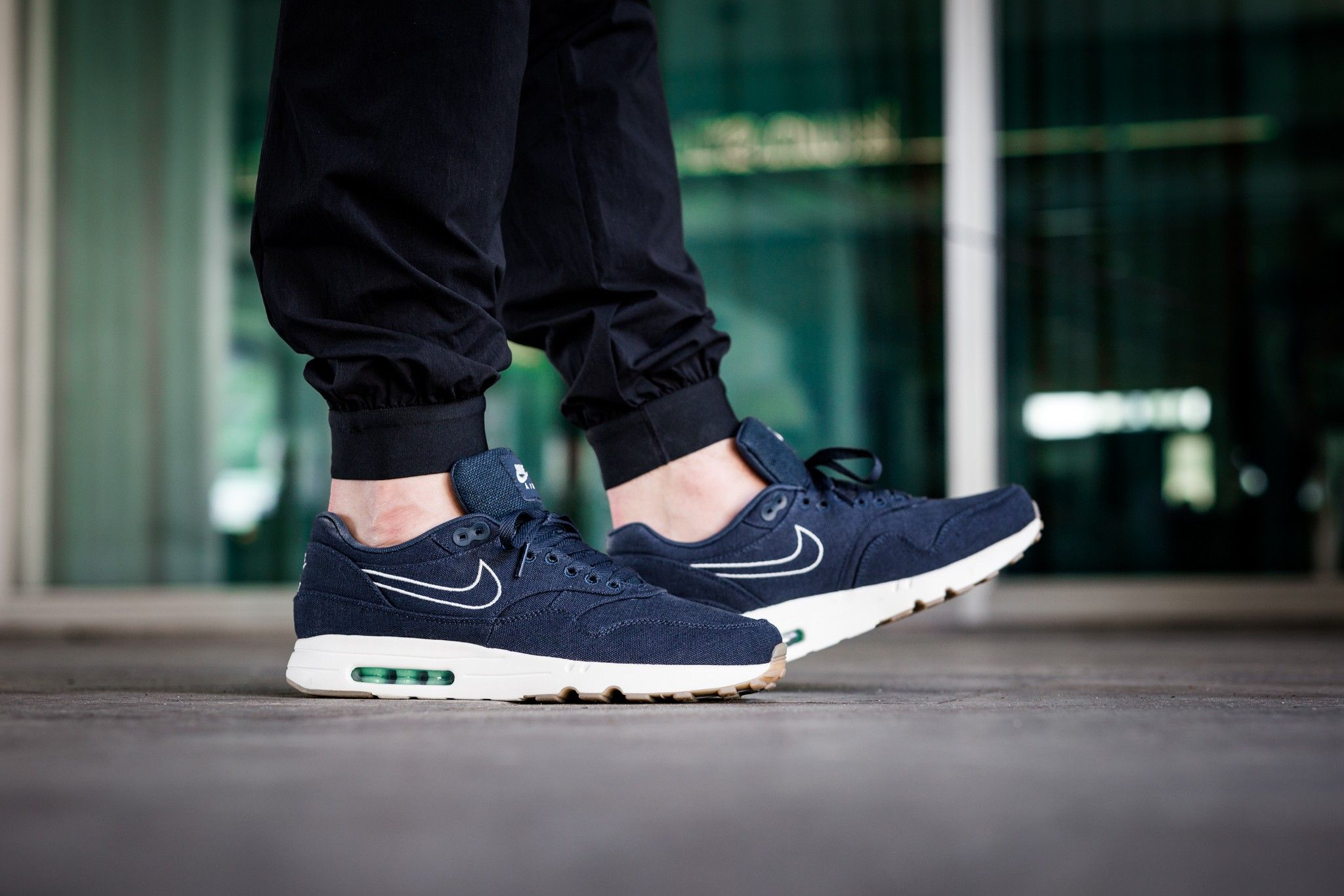 buy popular a2310 ca843 Nike Air Max 1 Ultra 2.0 Textile Armoury Navy Sail Fresh Mint Mens Sale  Cheap
