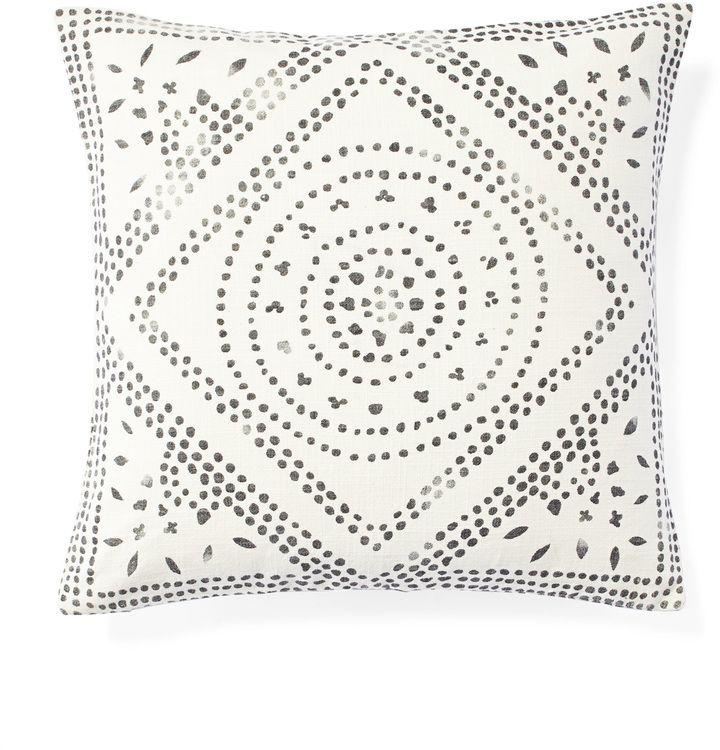 Serena Lily Camille Diamond Medallion Pillow Cover Pillows Inspiration Medallion Pillow Covers