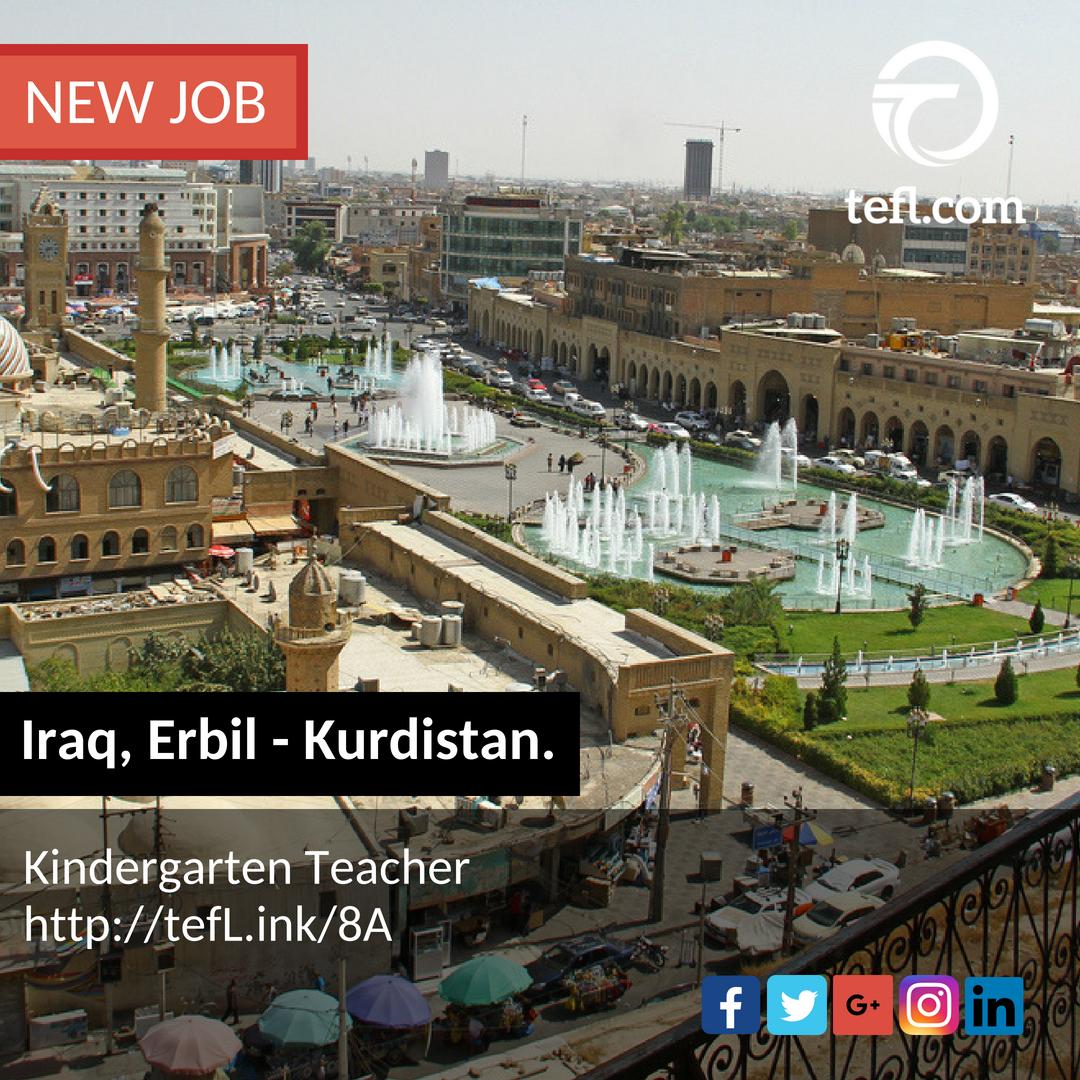 english teaching jobs in erbil