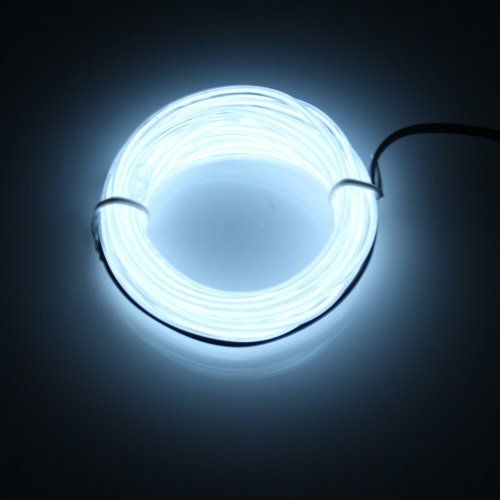 Lerway 5M EL Wire Fil Neon Flexible Lumiere, LED Cable Guirlande