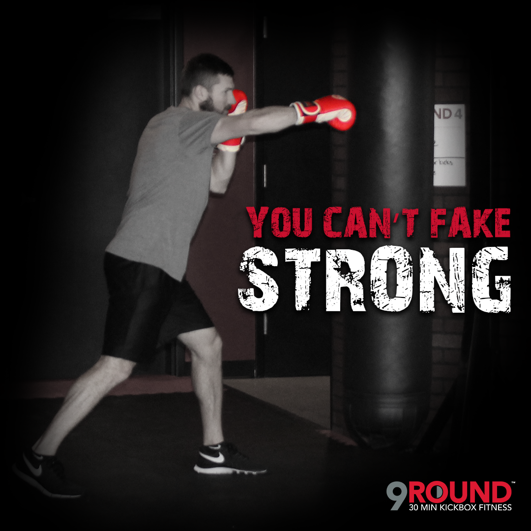 It Doesnt Get Easier You Just Get Stronger 9round