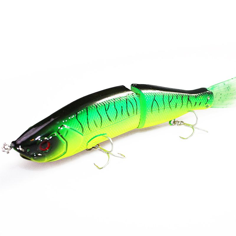1PCS 16.5cm 55g Jointed Section Swimbait Fishing Lures Hard Fishing Lures With 6# Hooks Crankbait Artificial Bait