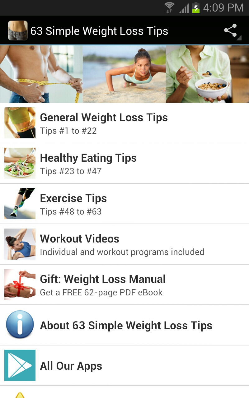 #Weight #loss is simple, but not easy. We've walked the walk, and here is our #mobile app featuring useful tips: https://play.google.com/store/apps/details?id=com.andromo.dev136619.app226951=en