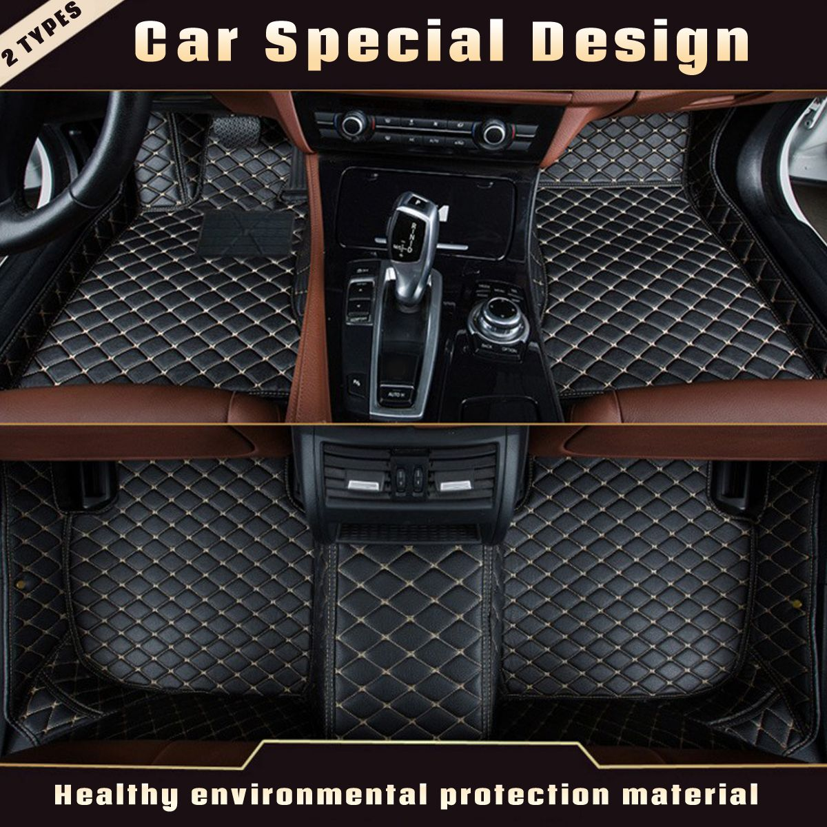 3pcs Leather Anti Slip Car Floor Mat Auto Decor Carpet For Mercedes For Benz A C W204 W205 E W211 W212 W213 Fo Custom Car Floor Mats Car Floor Mats Custom Cars