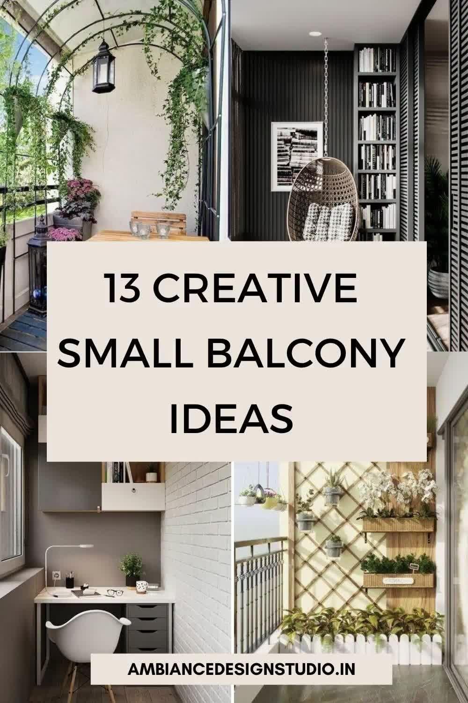 Creative small balcony ideas to glam up your tiny