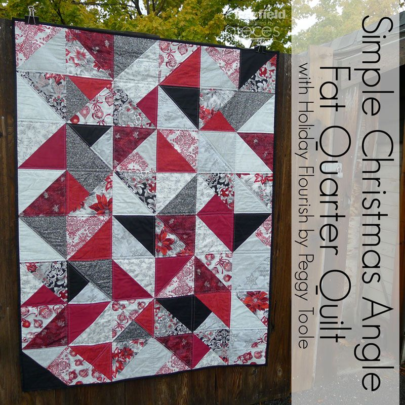 Simple Christmas Fat-Quarter Quilt - Free Pattern - Fat Quarter ... : fat quarter quilt tutorial - Adamdwight.com