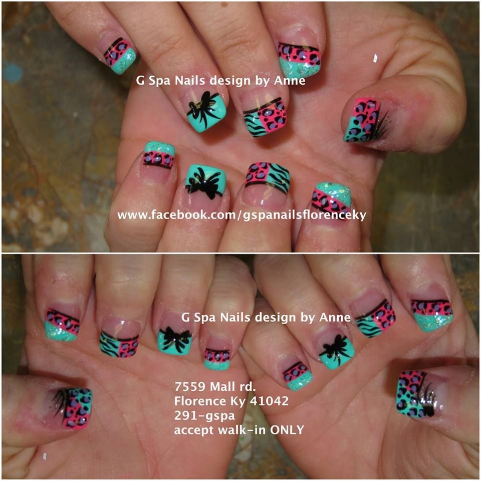 zebra cheetah nail designs | Nails designs | Pinterest | Cheetah ...