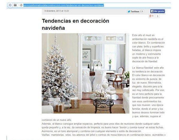 Nota para http://servicioinformativodelaconstruccion.com/tendencias-en-decoracion-navidena/