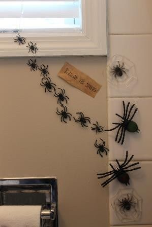 The Bathroom Harry Potter Spider And Decoration