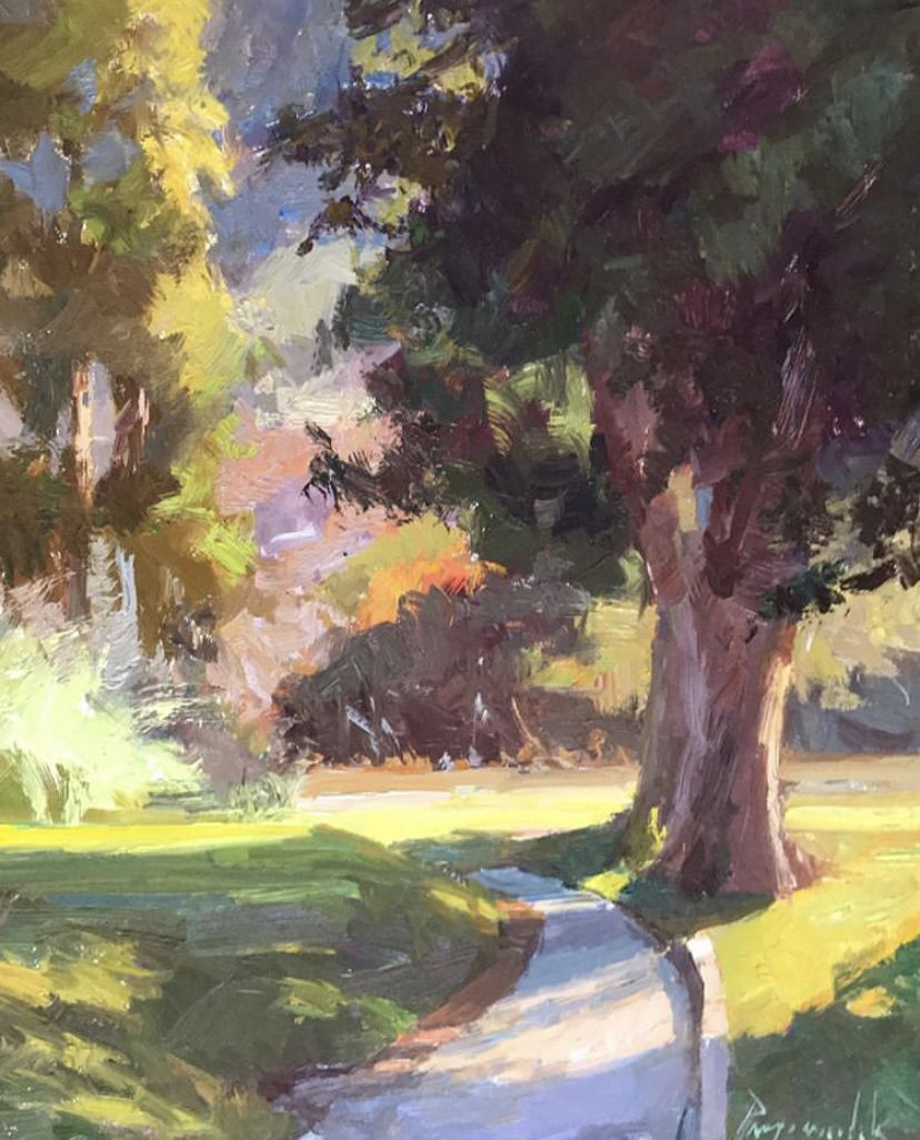 Pin by Anne Ehinger on country roads (2020) Plein air