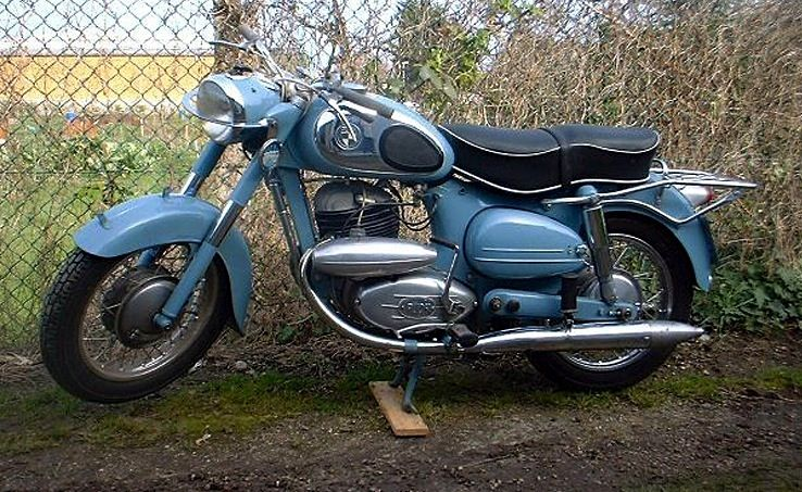1960 Puch Austria 250cc Split Single Two Stroke Engine Classic