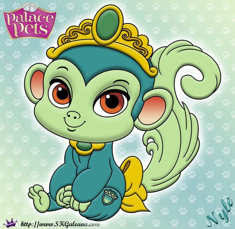 Free Princess Palace Pets Coloring Page Of Nyle