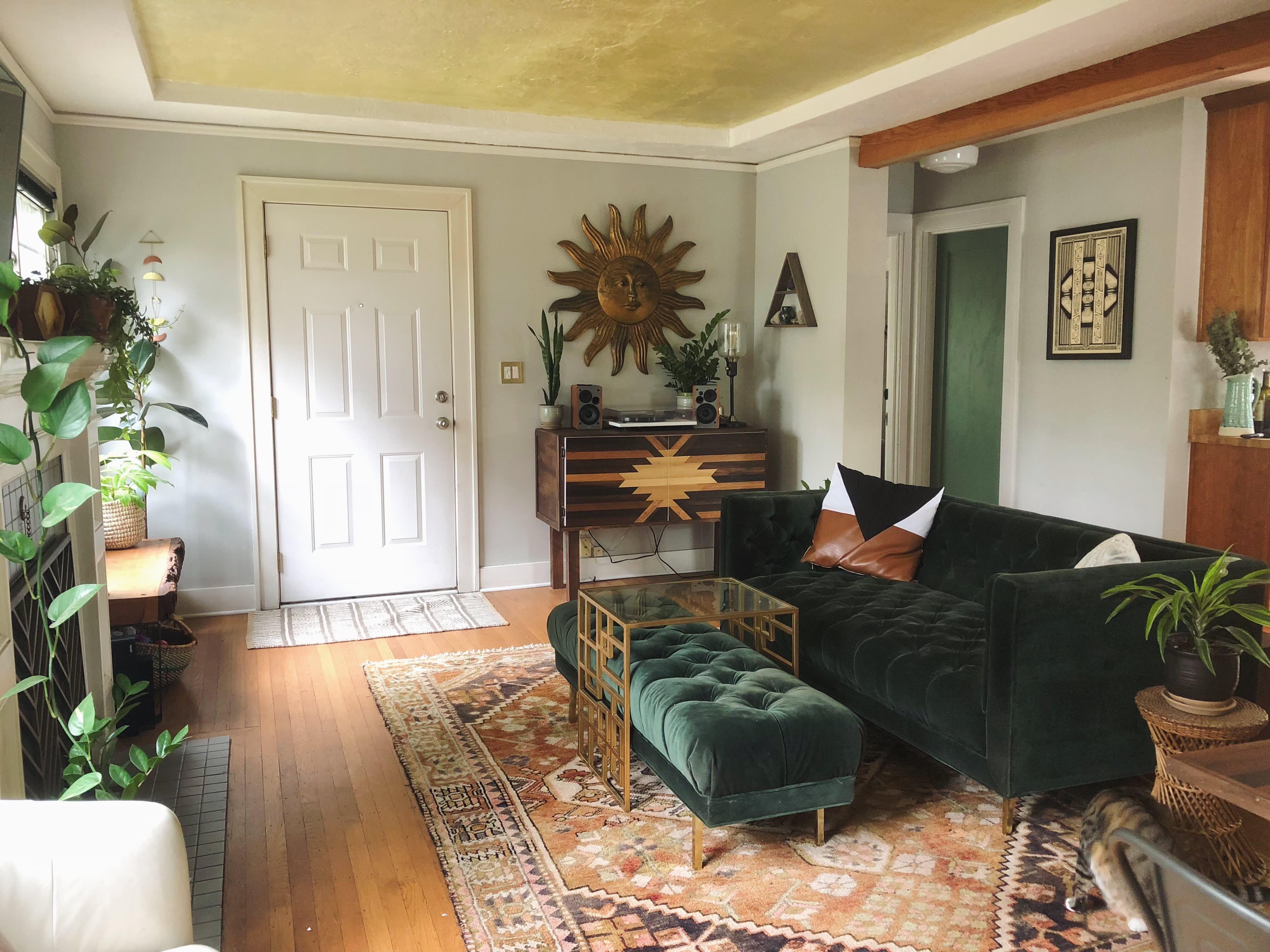 An Art Forward Funky Vintage Portland Bungalow Funky Home Decor Apartment Decor Home Interior Design