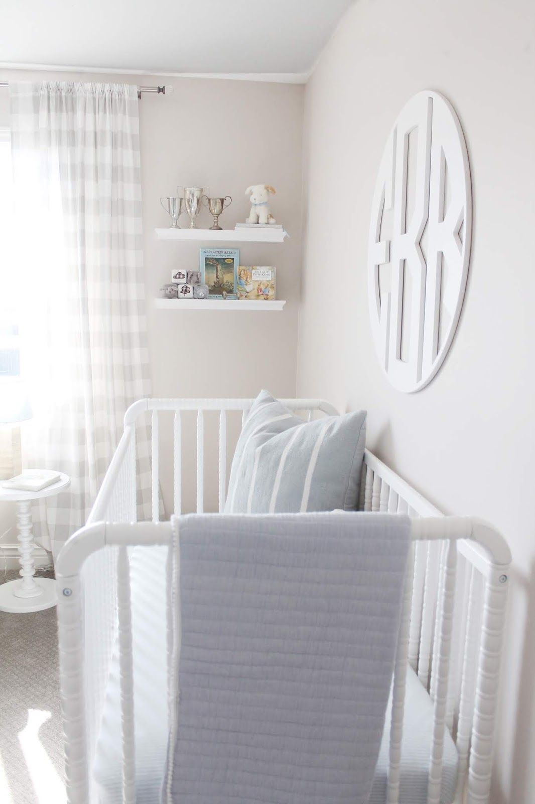 Nursery Reveal! (A Classic Baby Boy Nursery)