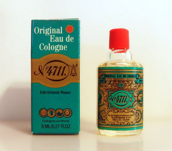 Vintage 1980s 4711 Original Eau De Cologne Maurer Wirtz Mini