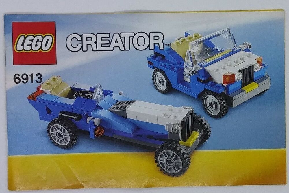 Lego Instruction Booklet Manual Only Creator 6913 Jeep Long Sports