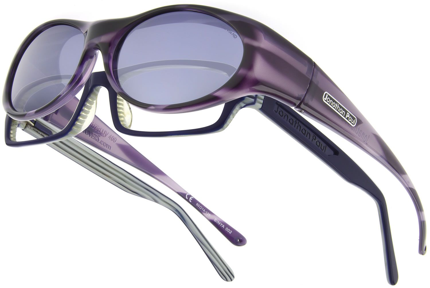 4b6d9acf83 Binya Purple Zebra fitover sunglasses by Jonathan Paul® Fitovers are the  world s finest fitting fit over sunglasses - made with unparalleled  technology ...