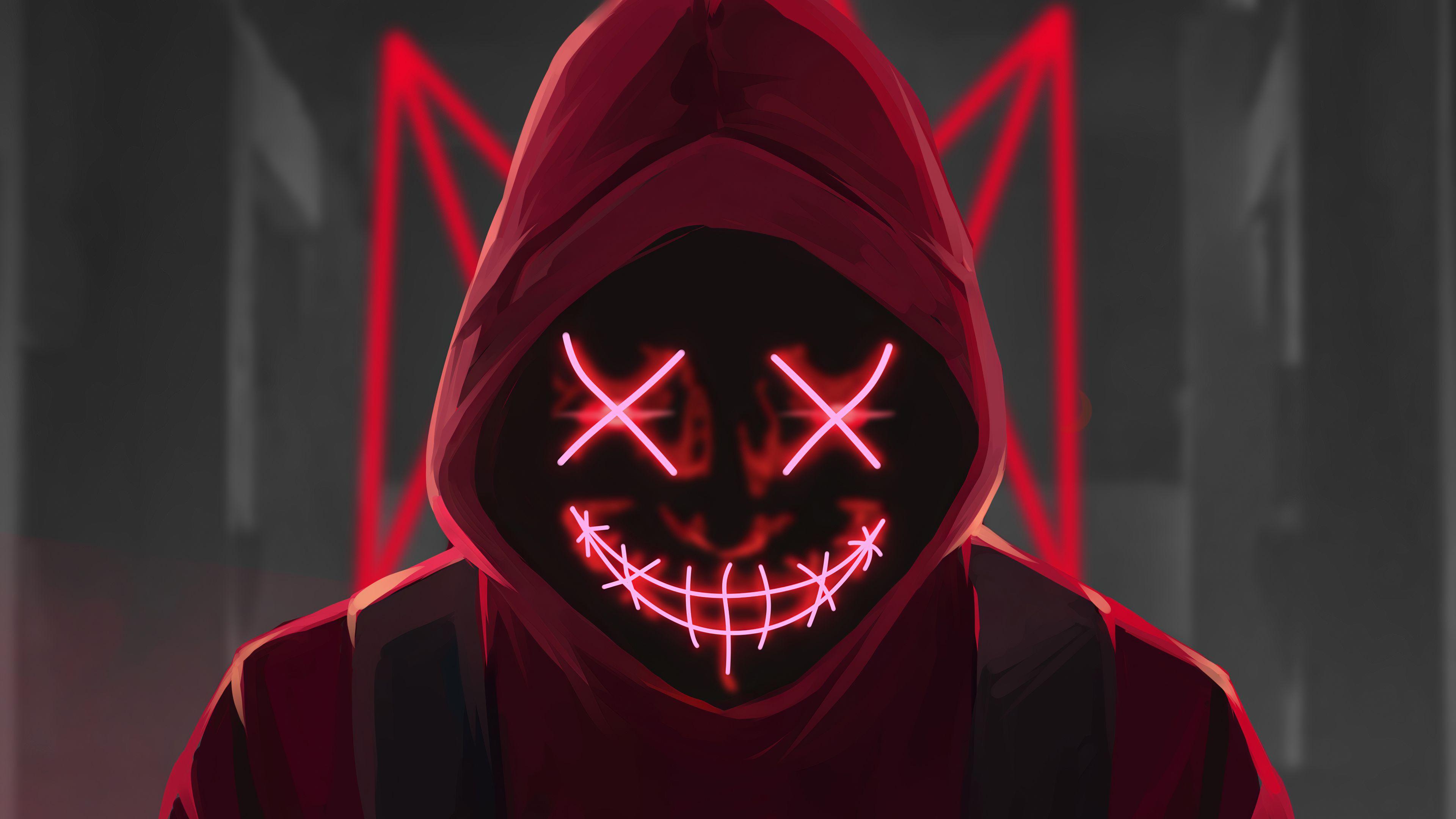 Red Mask Neon Eyes Neon Wallpaper Anime Wallpaper 1920x1080 Anime Wallpaper Anime wallpaper dark eyes