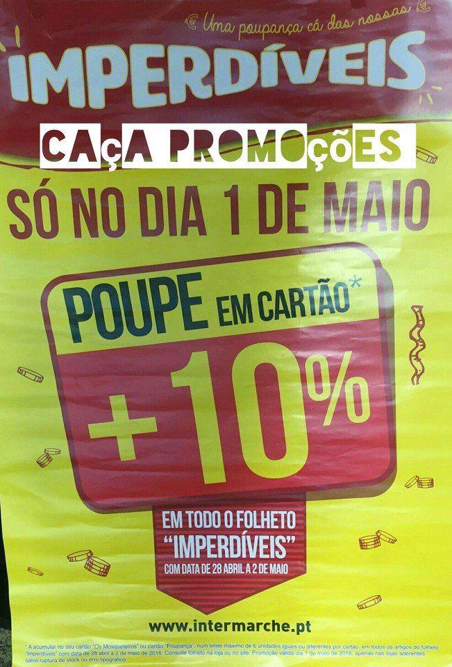 Promoções Intermarché - descontos 1 de maio - http://parapoupar.com/promocoes-intermarche-descontos-1-de-maio/