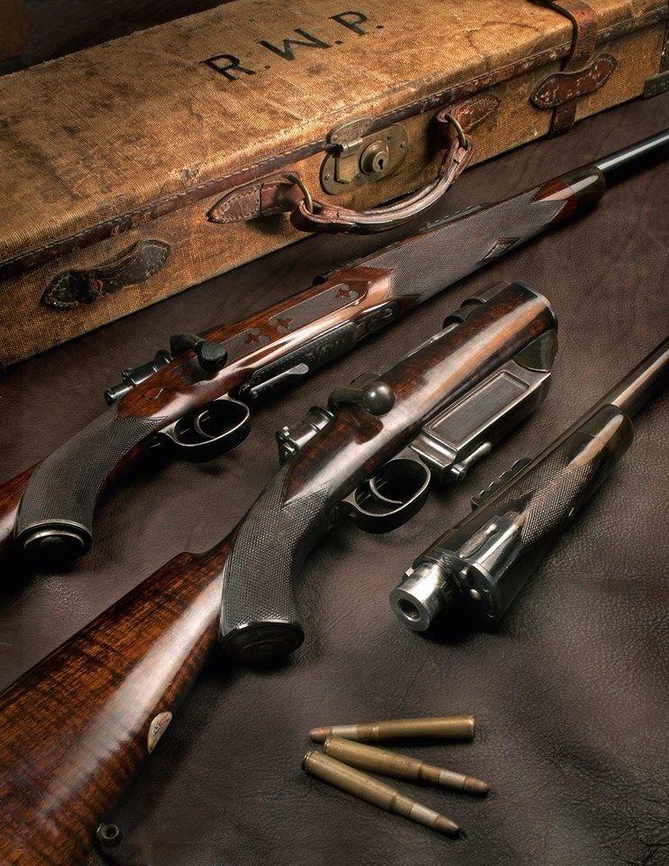 Westley Richards best quality magazine rifle  Takedown