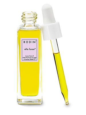 RODIN olio lusso Luxury Face Oil, 1 fl oz Naawk 029882875452 SPF 50 Duo Bottle with Sweet Pomegranate Lip Balm