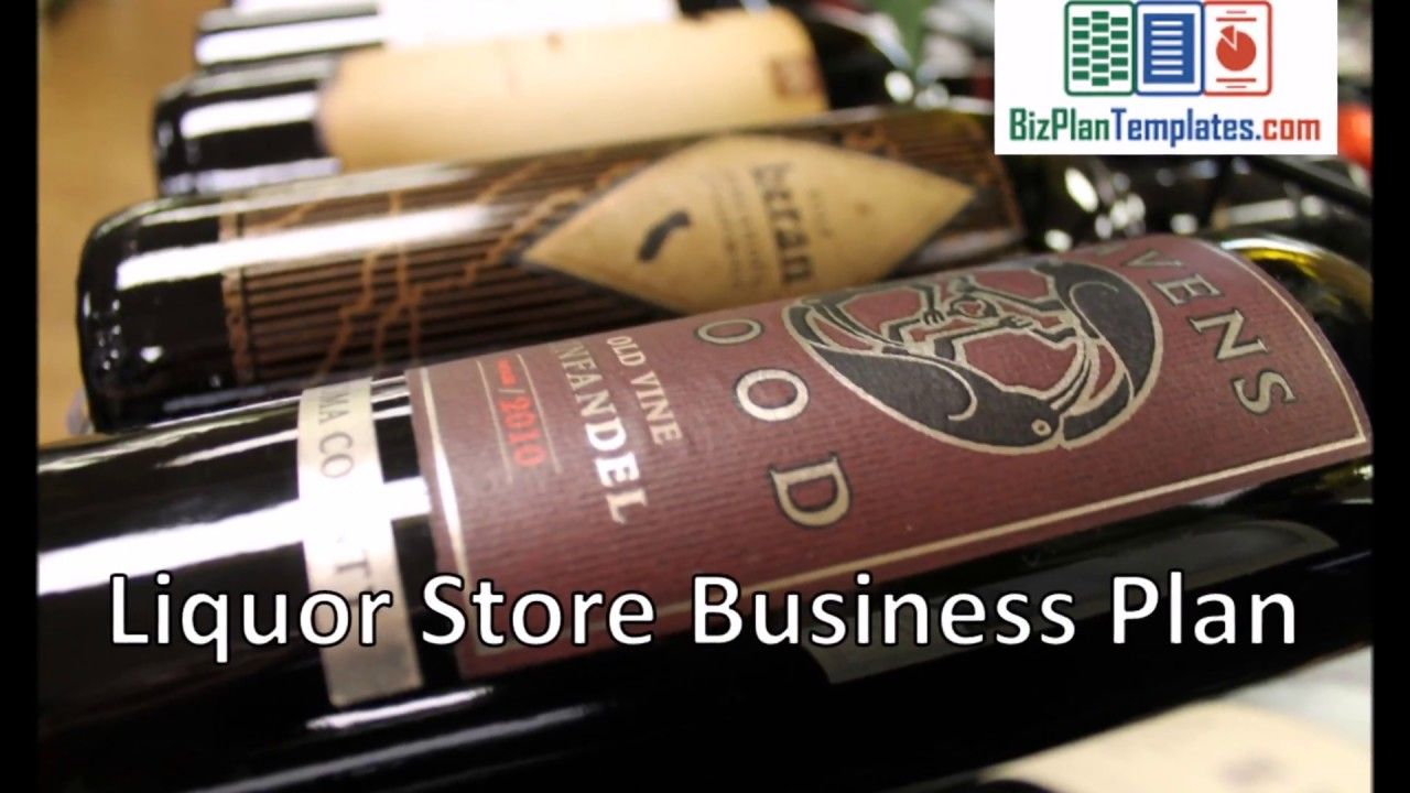 Liquor store business plan Liquor store, Business