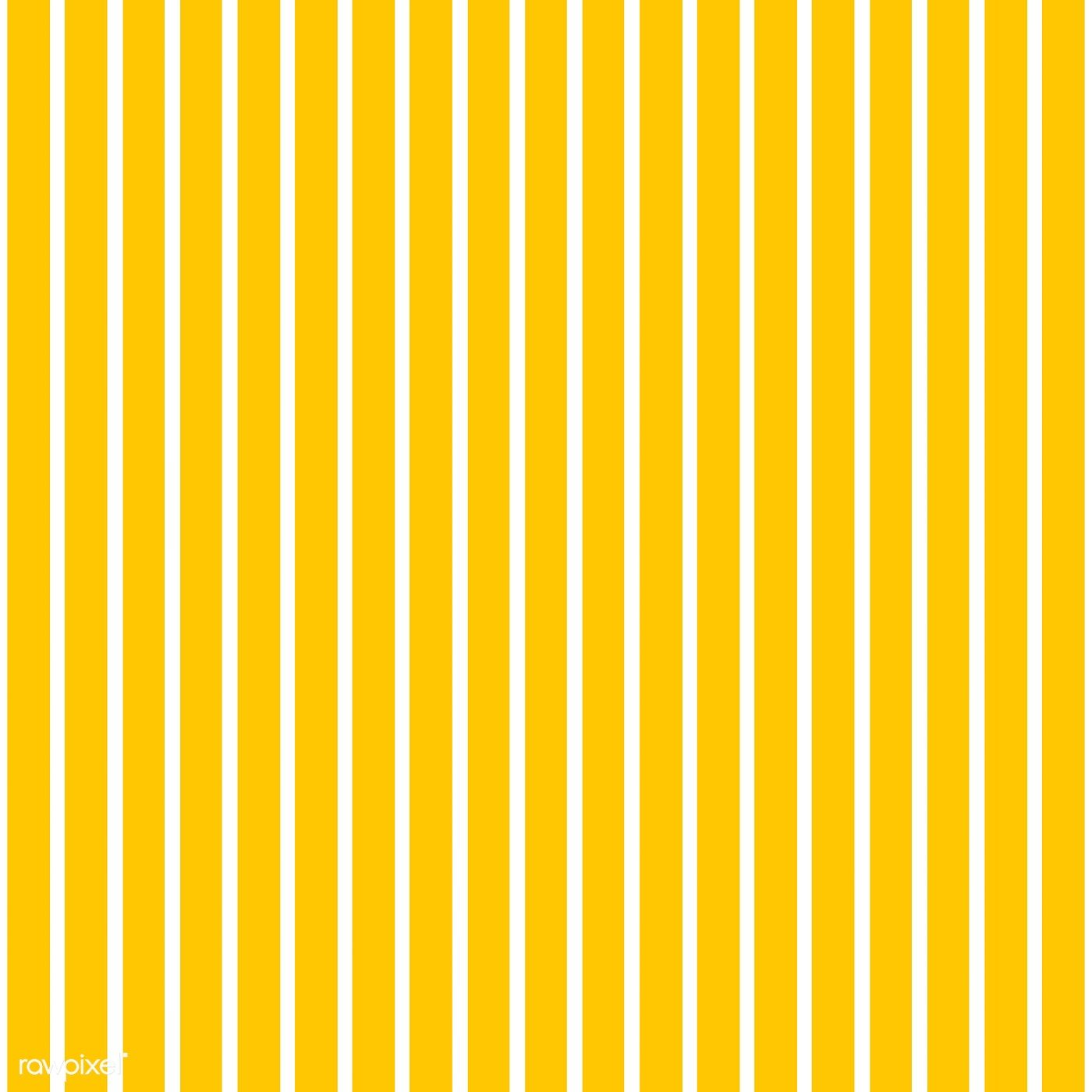 Yellow seamless striped pattern vector free image by