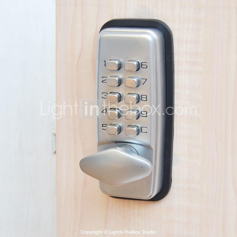 Mechanical Password Door Lock Deadbolt Code Lock Deadbolt Door