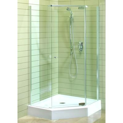 Maax Magnolia Angle Acrylic Shower Kit 102886 000 001 000