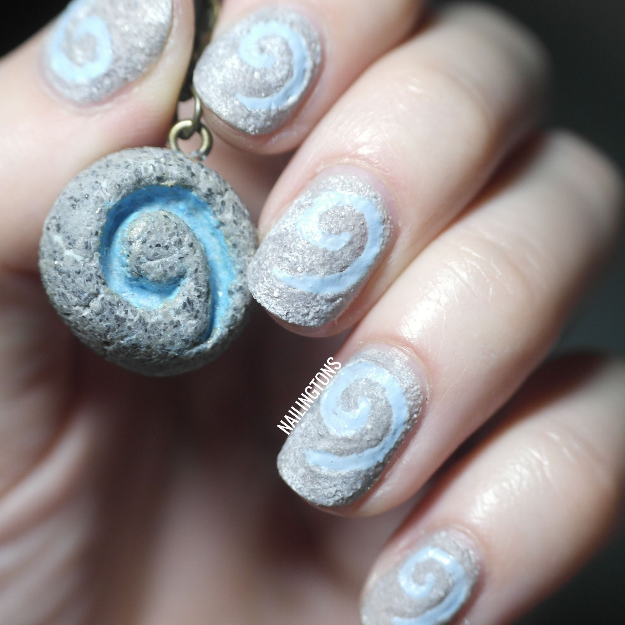 Baddest of the Bad: World of Warcraft: Heathstone Nail Art (www ...