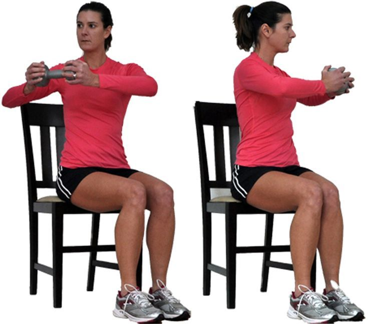 You Can Still Workout Your Upper Body From A Chair Senior