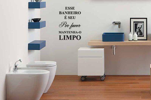 Blog de Decorar: Banheiro Decorado com Adesivo, Papel Contact e Pastilhas Adesivas