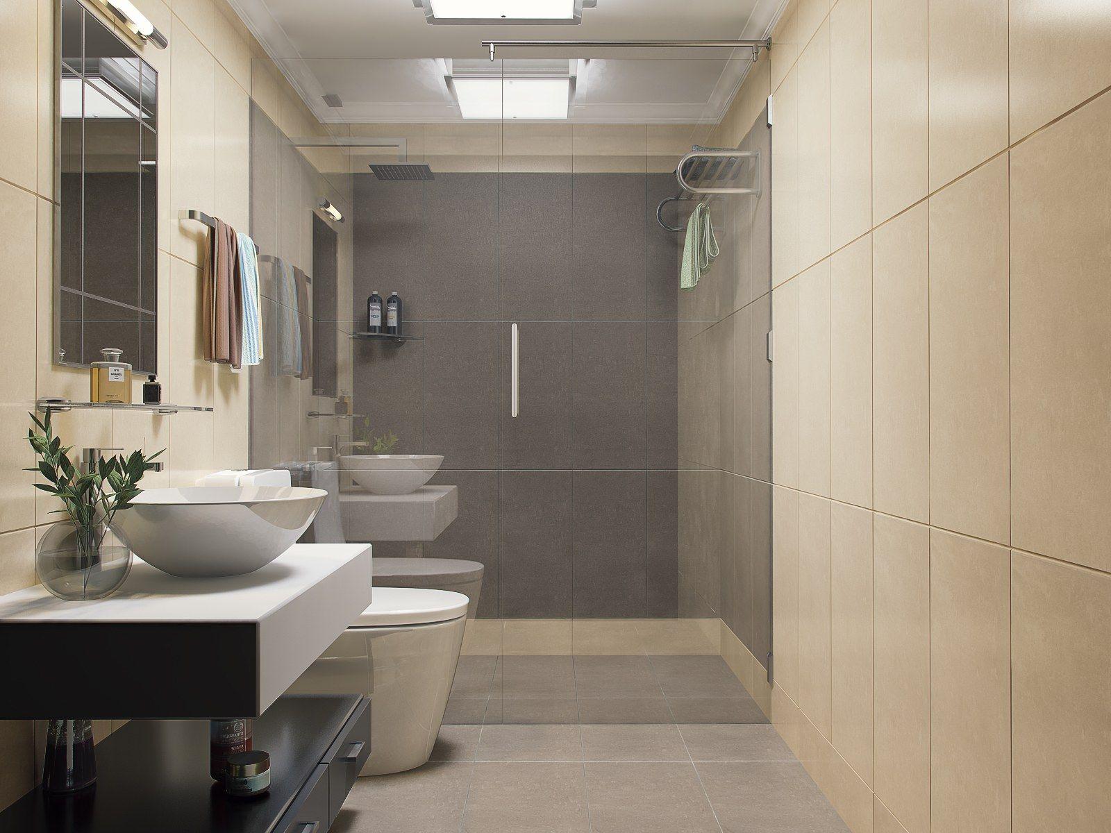 Sketchup Free 3d Model Bathroom Visopt By Hữu Phước Interior