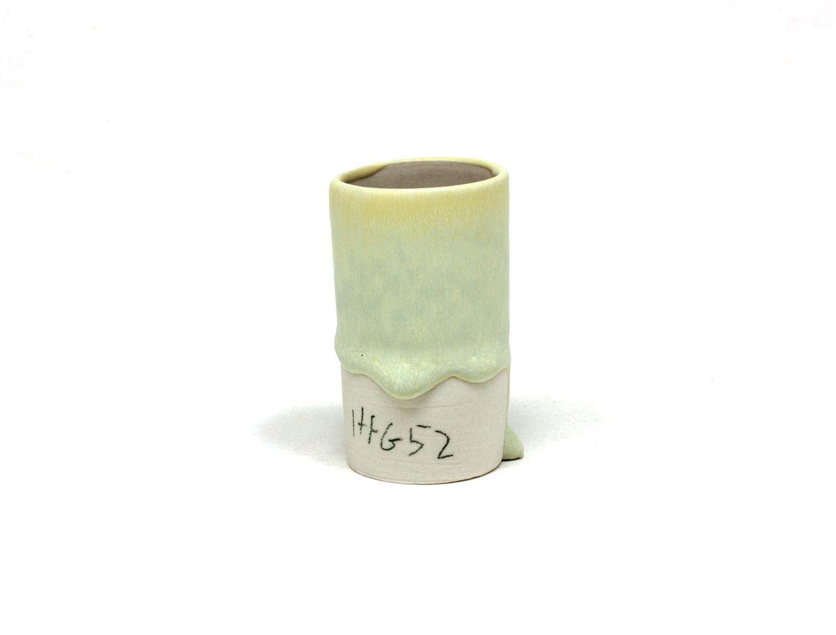 cone 6 -  41.0 Custer 22.0 EPK 14.0 Whiting 9.0 Gerstley Borate 7.0 Titanium Oxide 7.0 Zinc Oxide (UnCalc.)