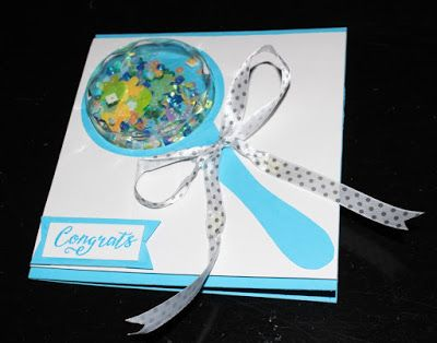 V R Enchanted: Baby Rattle Gift Envelopes