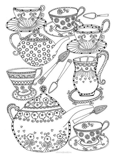 Tea or coffee? | Fargelegge | Pinterest